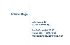 Visitenkarten Kartenkontor Hamburg