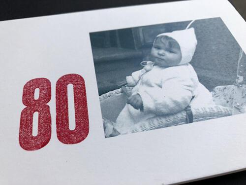 Einladung zum 80sten Geburtstag