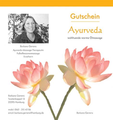 Flyer Ayurveda